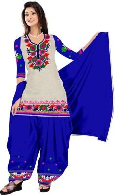 Deekay cloth house Cotton Printed Salwar Suit Dupatta Material