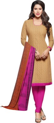Miss Charming Chanderi Self Design Salwar Suit Dupatta Material