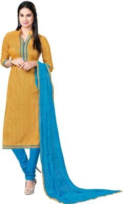 Viva N Diva Silk Printed Salwar Suit Dupatta Material