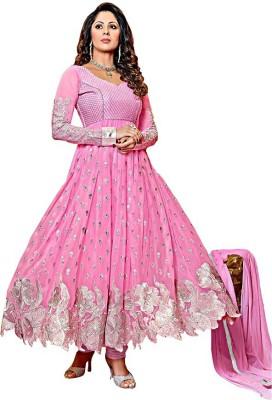 Sharvi Georgette Embroidered Salwar Suit Dupatta Material