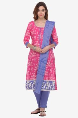 Varanga Cotton Printed Salwar Suit Dupatta Material