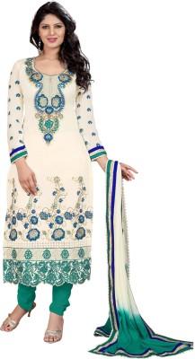 Value Added Fashion Chanderi Self Design Salwar Suit Dupatta Material