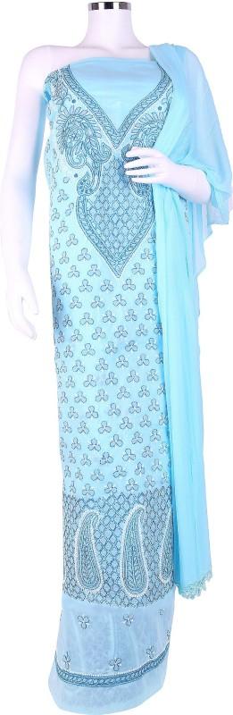 Shenaro Cotton Printed Salwar Suit Dupatta Material(Un-stitched)