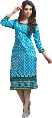 Vandv Shop Cotton Printed Kurti Fabric