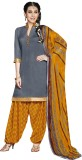 Khushali Cotton Self Design, Printed Dre...