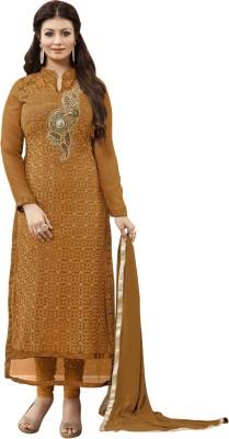 mastani Georgette Embroidered Salwar Suit Dupatta Material