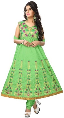 Accurate Collection Cotton Embroidered Semi-stitched Salwar Suit Material