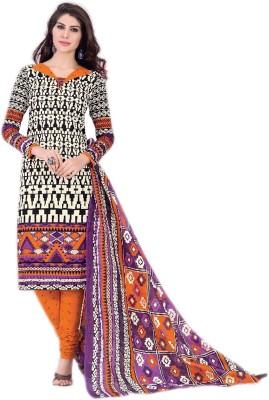 Bhuvaneswari Cotton Printed Salwar Suit Dupatta Material