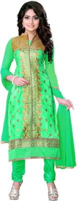 Styles Closet Chanderi Embroidered Salwar Suit Dupatta Material