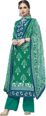 Shubh-Style Cotton Printed Salwar Suit Dupatta Material