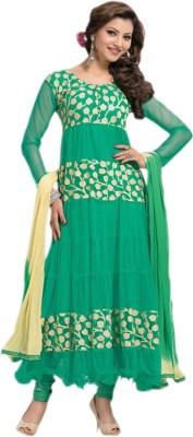 1nilkanthfashion Net Printed Salwar Suit Dupatta Material
