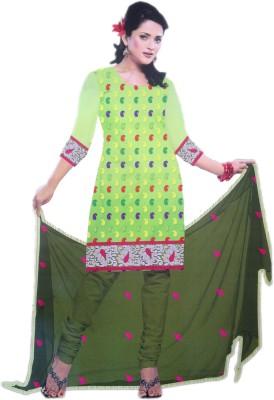Strikelate Cotton Embroidered Salwar Suit Dupatta Material