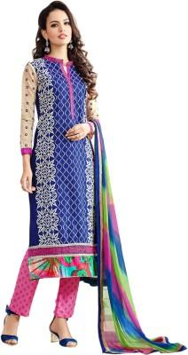 Surat Dream Cotton Embroidered Salwar Suit Dupatta Material