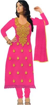 Amin Cotton, Chiffon Embroidered Salwar Suit Dupatta Material