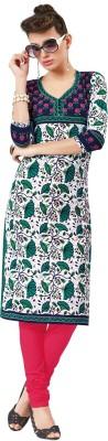 SuitsOn Cotton Printed Kurti Fabric
