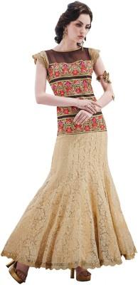 Inddus Net Embroidered Salwar Suit Dupatta Material Un stitched  Material Un stitched  Material Unstitched  available at Flipkart for Rs.4725
