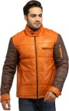Crabrocks Leather Houndstooth Jacket Fab...
