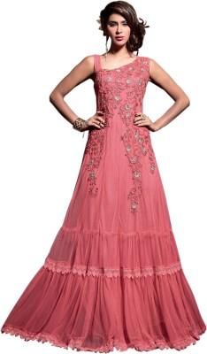 Saree Exotica Net Self Design Dress/Top Material