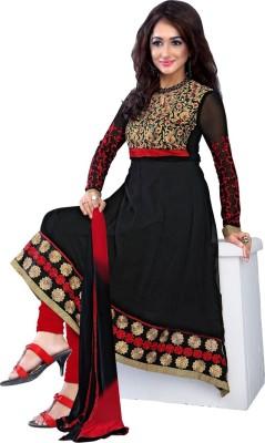Livaaz Georgette Embroidered Salwar Suit Dupatta Material