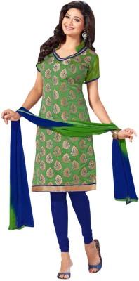 Trendz Apparels Jacquard Printed Salwar Suit Dupatta Material