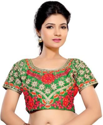 Inidan E Fashion Silk Paisley Blouse Material