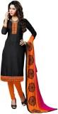 Inddus Silk Printed Salwar Suit Dupatta ...
