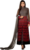 Fashion Forever Georgette Embroidered Sa...