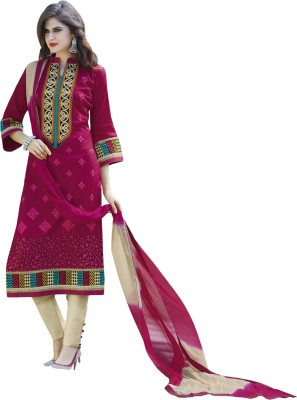 Bhelpuri Cotton Embroidered Dress/Top Material