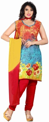 Araja Cotton Printed Dress/Top Material