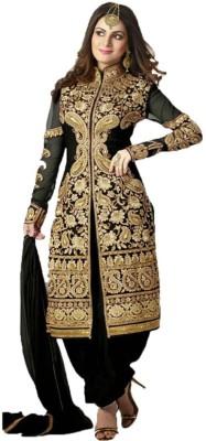 Shreet Fashion Georgette Self Design Salwar Suit Dupatta Material