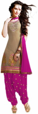 VenusINDR Cotton Embroidered Salwar Suit Dupatta Material