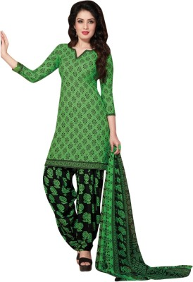 Aagaman Fashion Polyester Printed Salwar Suit Dupatta Material