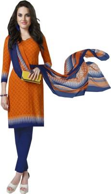 Jayanti Sarees Synthetic Printed Salwar Suit Dupatta Material