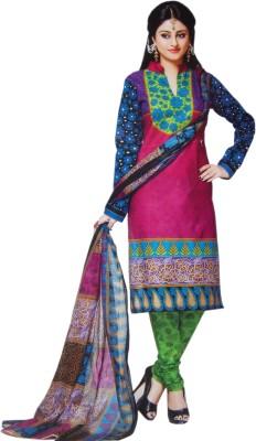 ahujaenterprise Cotton Printed Salwar Suit Dupatta Material