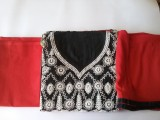 cottoning Cotton Embroidered Suit Fabric...