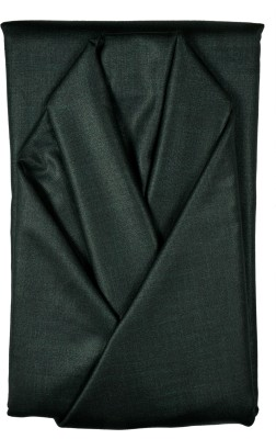 Men In Black Cotton Wool Blend Solid Suit Fabric