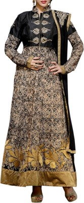 Admyrin Silk Embroidered Dress/Top Material