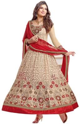 Harikrishna Fashion Georgette Embroidered Salwar Suit Dupatta Material