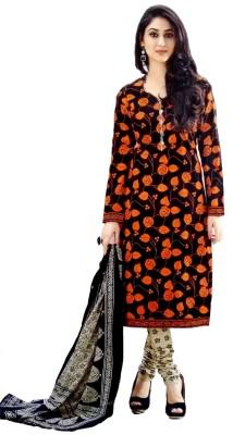 Rajhans Creation Cotton Floral Print Salwar Suit Material