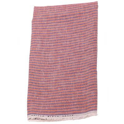Fablino Linen Striped Shirt Fabric