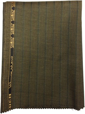 Ramkumar textile Polyester, Viscose Striped Trouser Fabric