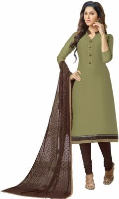 Khushali Chanderi Self Design Salwar Suit Dupatta Material