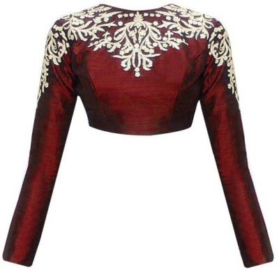 Fabron Silk Embroidered Blouse Material