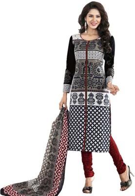 VAEIN Cotton Printed Salwar Suit Dupatta Material