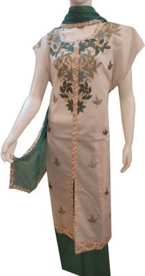 Boenjoy Cotton Solid Semi-stitched Salwar Suit Dupatta Material