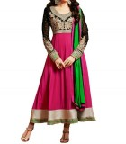 High Choice Creation Georgette Embroider...