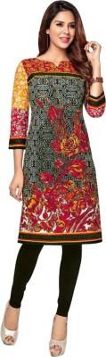 Party Wear Dresses Cotton Printed Kurti Fabric