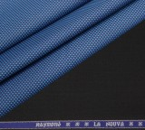 Raymond Cotton Polyester Blend Checkered...