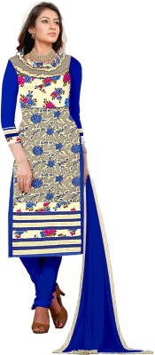 Khushali Net, Silk, Georgette Self Design, Embroidered Salwar Suit Dupatta Material