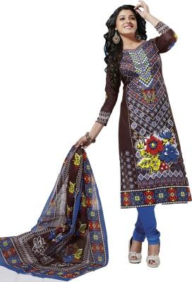 Kundan Cotton Printed Salwar Suit Dupatta Material